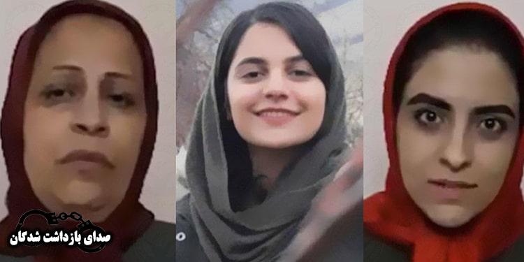 جان زندانیان سیاسی، زهرا صفایی و دخترش پرستو معینی و فروغ تقی پور در خطر است