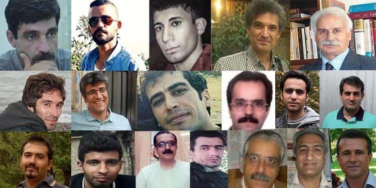 نامهی ۱۸ تن از زندانیان سیاسی زندان گوهردشت در اعتراض به تبعید و آزار زندانیان