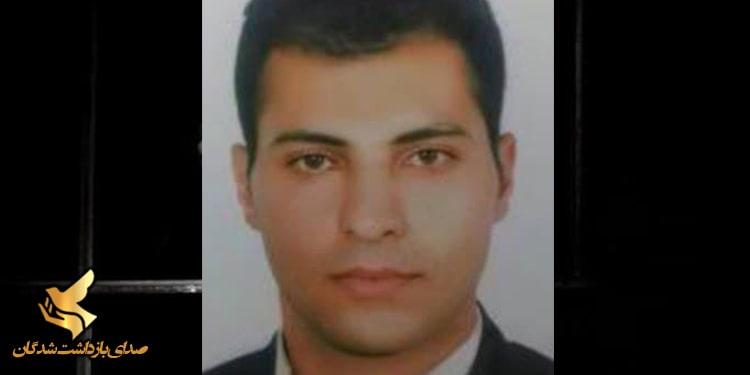 مسعود وظیفه زندانی سیاسی محبوس در زندان تهران بزرگ اقدام به اعتصاب غذا کرد