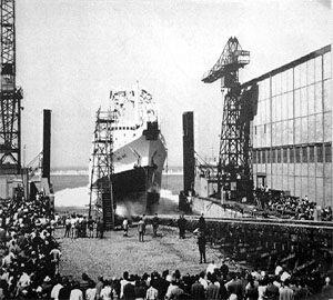 1840 - حرکت اولین کشتی مسافربری با نیروی بخار در انگلستان