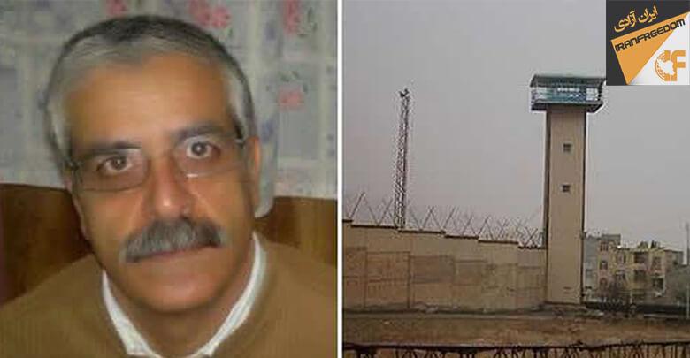انتقال زندانی سیاسی ابوالقاسم فولادوند به سالن ۱۰ زندان گوهردشت کرج