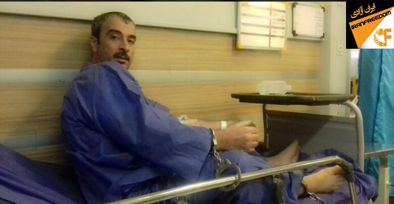 حمیدرضا امینی؛ زندانی سیاسی در زندان تهران بزرگ، از درمان در بیمارستان محروم شد