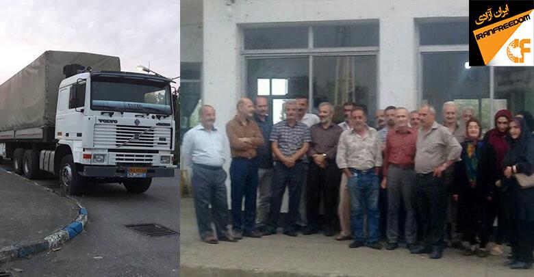 کارگران شرکت ایران پوپلین در رشت به فروش ماشینآلات این کارخانه اعتراض کردند