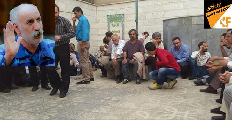 دراویش گنابادی در زندان تهران بزرگ مراسم یادبود محمد ثلاث را برگزار کردند