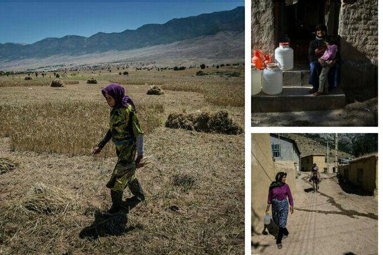بحران بی آبی روستاهای سرسبز مازندران را به کویری خشک تبدیل کرده است