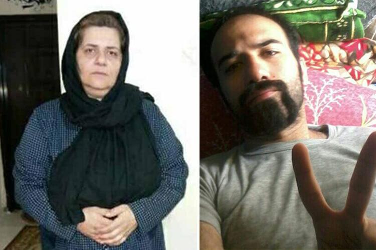 مادر زندانی سیاسی سهیل عربی از دیدار فرزندش محروم است
