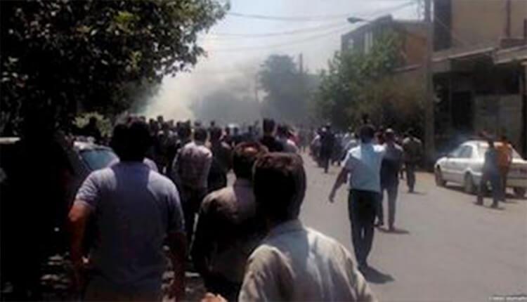 تظاهرات در شهرهای گوهردشت کرج، قم، تهران، قهدريجان، ابهر و شیراز