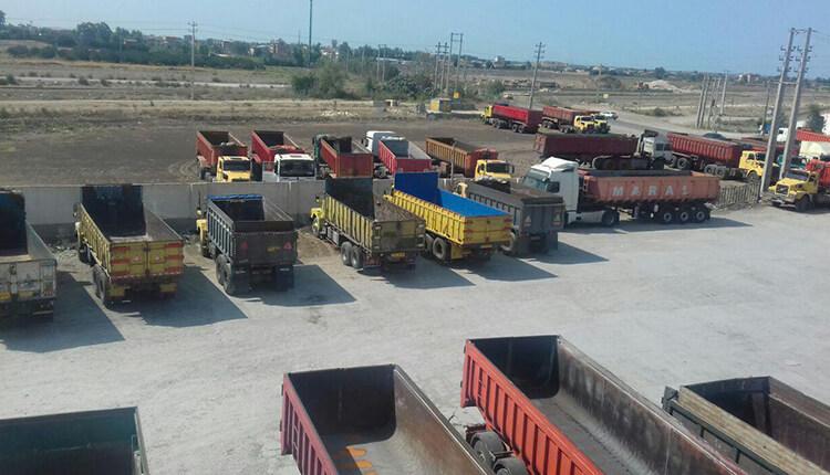 اعتصاب رانندگان در نکا