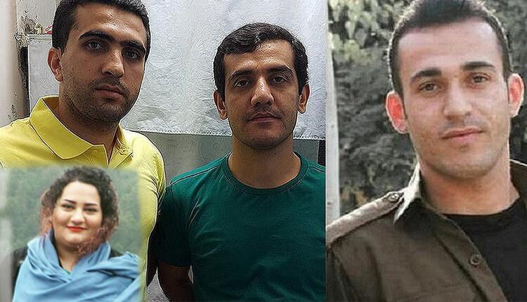 نامه آتنا دائمی در مورد اعدام رامین حسین پناهی، لقمان و زانیار مرادی