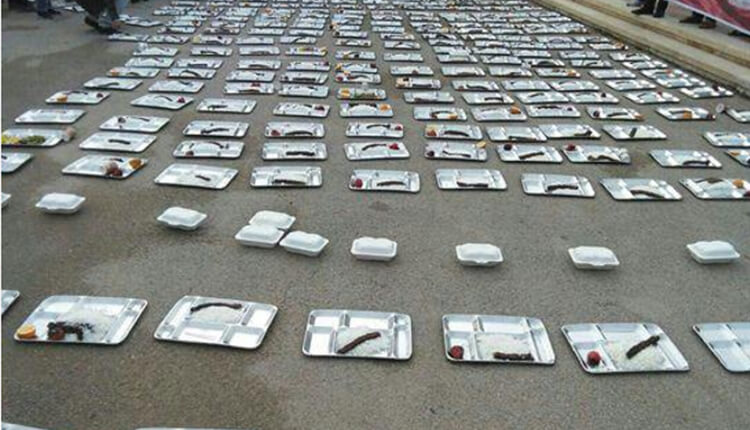 اعتصاب غذای دانشجویان دانشگاه دریانوردی چابهار در اعتراض به وضعیت غیربهداشتی غذا