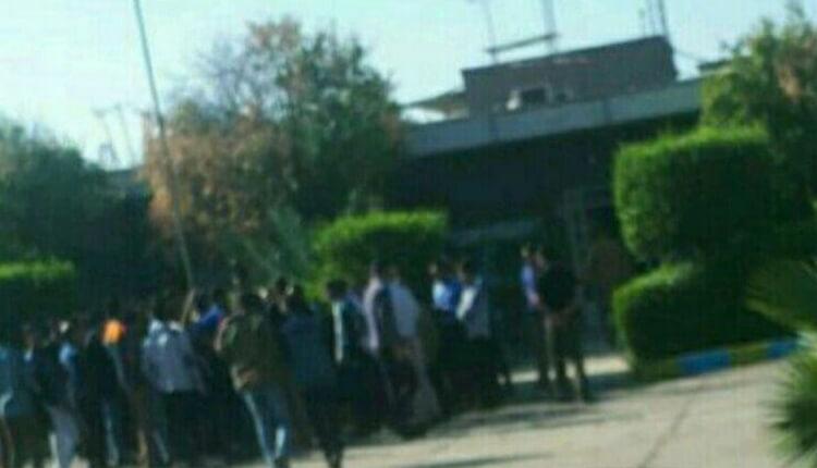 اعتصاب کارگران شرکت نیشکر هفتتپه شوش در اعتراض به معوقات حقوقی و سوء مدیریت شرکت