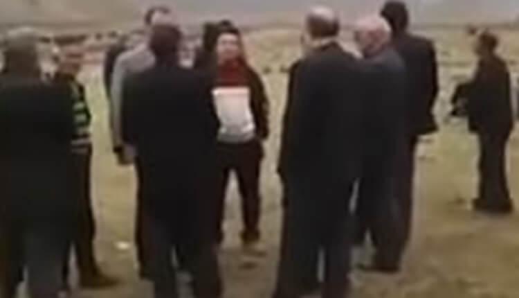 تجمع اعتراضی روستائیان پهن_دره شهرستان طارم زنجان بخاطر غصب زمین_هایشان