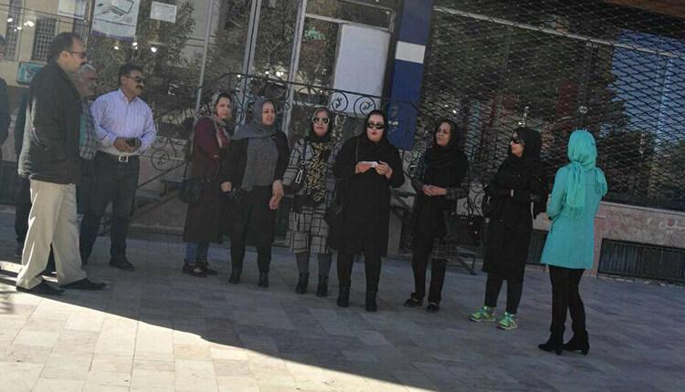 تجمع اعتراضی مالباختگان موسسه کاسپین کرمان در اعتراض به غارت سپردههایشان