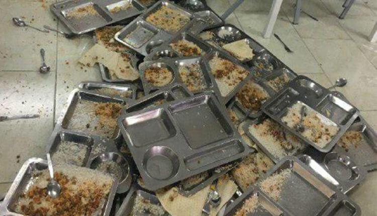 اعتراض دانشجویان دانشگاه فنی و حرفهای تبریز به کیفیت پایین غذا