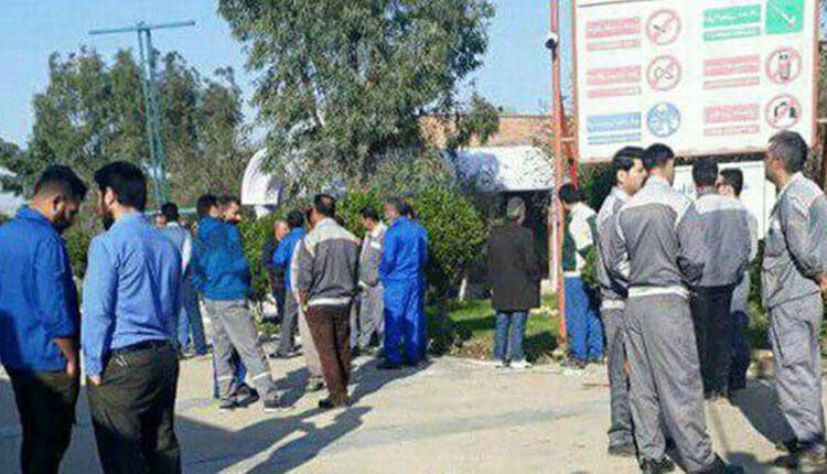 تجمع اعتراضی کارگران پتروشیمی فارابی برای چندمین روز در بندر ماهشهر