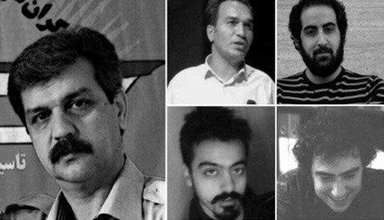 تجمع اعتراضی خانواده های بازداشت شدگان سندیکای کارگران شرکت واحد مقابل زندان اوین