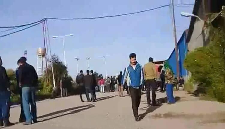 اعتصاب و تجمع اعتراضی کارگران نیشکر هفت تپه در اعتراض به عدم پرداخت حقوق