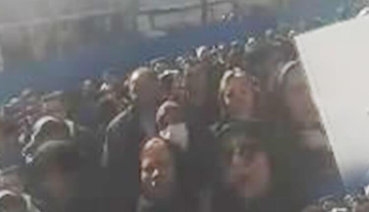 تجمع اعتراضی مالباختگان طلافروشی شادی محله تهرانپارس تهران