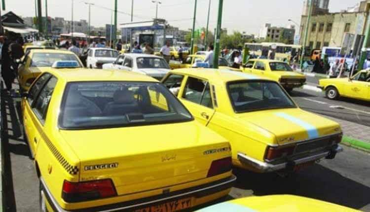 اعتصاب رانندگان تاکسی در بانه در اعتراض به پایین بودم نرخ کرایه