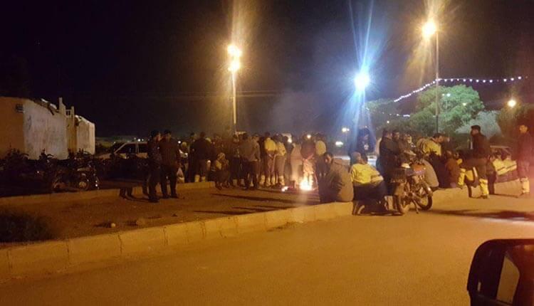 اعتصاب و تجمع اعتراضی کارگران منطقه 5 شهرداری اهواز .jpg