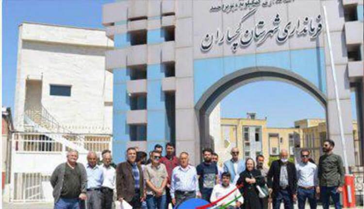 تجمع اعتراضی مستاجرین مغازههای شرکت بهره برداری نفت و گاز گچساران
