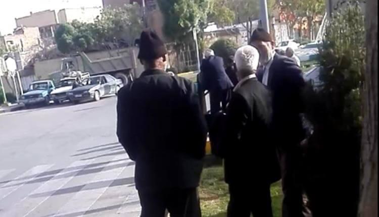 تجمع اعتراضی کشاورزان خوراسگان اصفهان در اعتراض به لولهگذاری