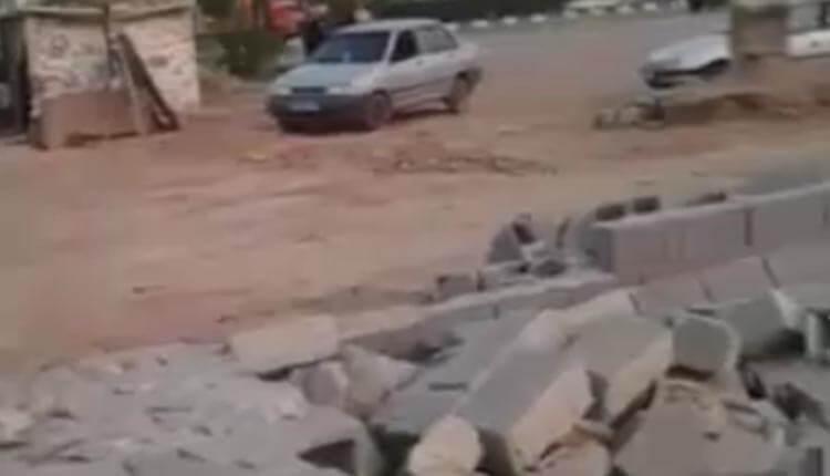 گزارشی دردناک از وضعیت یک هموطن سیل زدهای از منطقه زرگان اهواز استان خوزستان