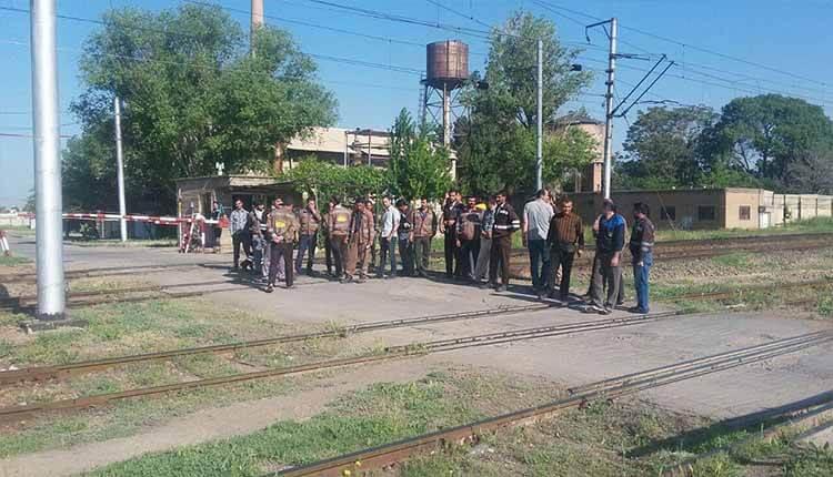اعتصاب دوباره کارگران راه آهن تبریز در اعتراض به عدم دریافت حقوق