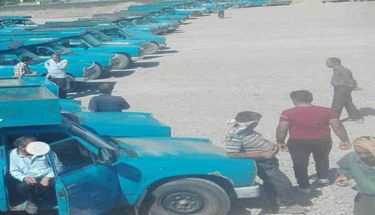 اعتصاب رانندگان خودروهای پسماند شهرداری ارومیه در اعتراض به حقوق معوقه