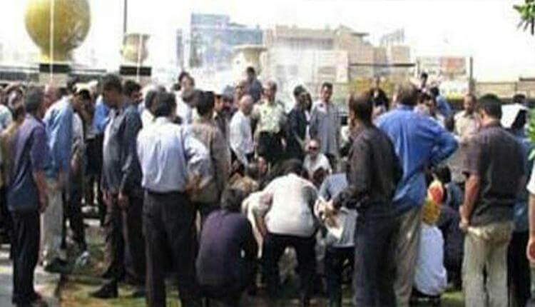 اعتصاب کارگران معدن کوشک بافق دراعتراض به کاهش حقوق