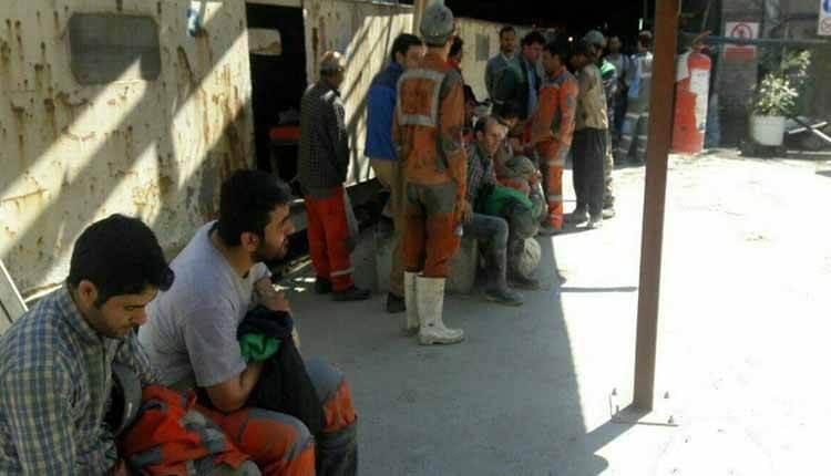 اعتصاب کارگران کانی سیب در بیگم قلعه در اعتراض به پرداخت نشدن حقوق و عیدی