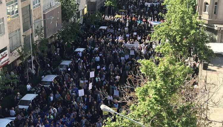 بازداشت دهها تن ازاعضای سندیکای کارگران شرکت واحد و دانشجویان
