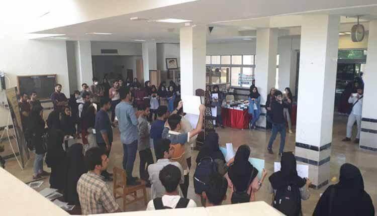 تجمع دانشجویان بوشهر و سنندج در اعتراض به طرحهای حجاب و عفاف