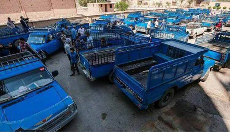 تجمع اعتراضی کارگران کارخانه آرد غنچه اهواز نسبت به عدم پرداخت حقوق