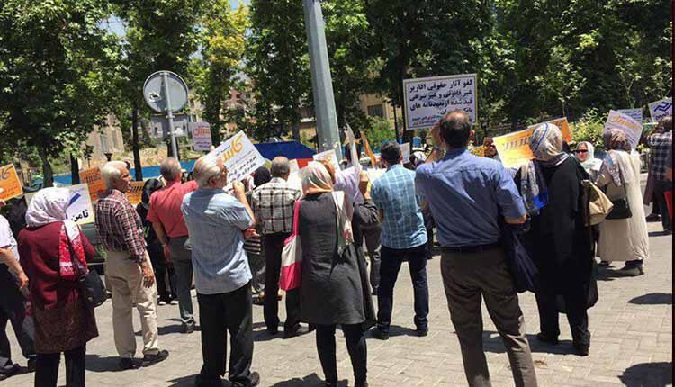 تجمع سپرده گذاران و مالباختگان موسسه کاسپین تهران و ثامن الحجج