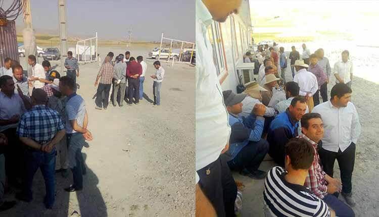پرسنل شرکت خارادژ در ارومیه تجمع اعتراضی برگزار کردند