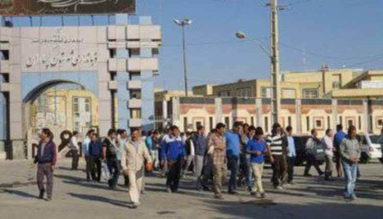 کارگران سدچمشیر مقابل فرمانداری رژیم در گچساران تجمع اعتراضی برگزار کردند