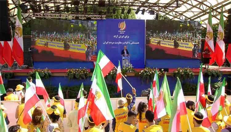 تظاهرات بزرگ ایرانیان و هواداران مقاومت ایران در استکهلم
