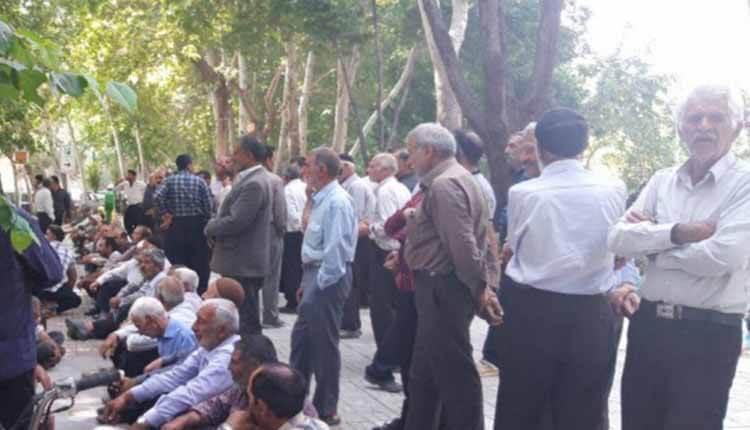 کشاورزان غرب استان اصفهان تجمع اعتراضی برگزار کردند