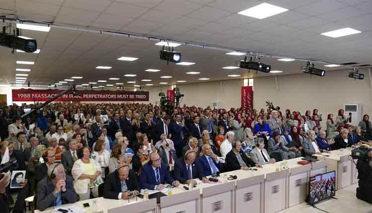 کنفرانس دادخواهی قتلعام ۶۷ محاکمه آمران و عاملان د دادگاه های بینالمللی در اشرف ۳