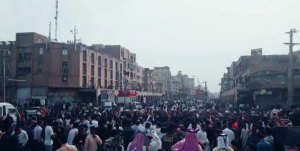 اعتراض هموطنان عرب در اهواز در اعتراض به تبعیض