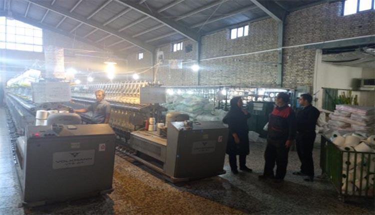 اعتراض کارگران کارخانه فرش و پتو مقدم نسبت به مشکلات ریوی و تنفسی