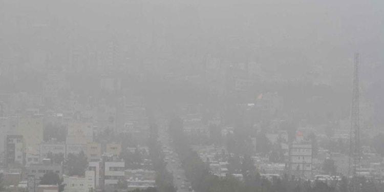 حداکثر آلودگی هوا درمرکز تهران