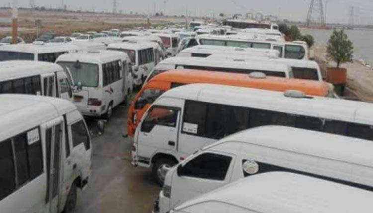 رانندگان منطقه ویژه ماهشهر در اعتراض به دستمزد پایین اعتصاب کردند