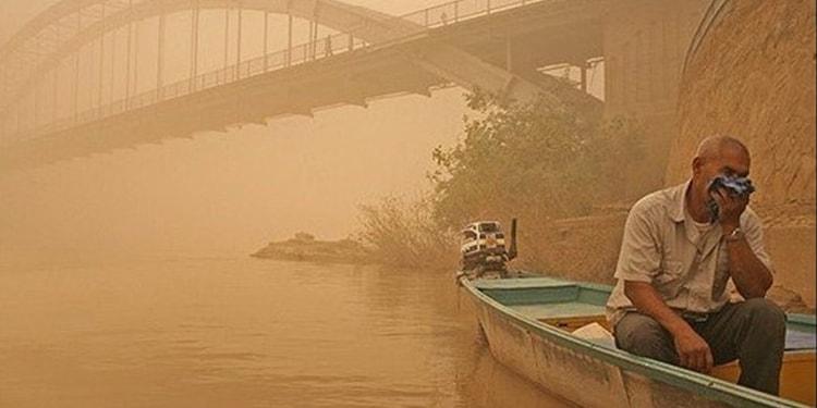ریزگرد و آلودگی هوا در خوزستان