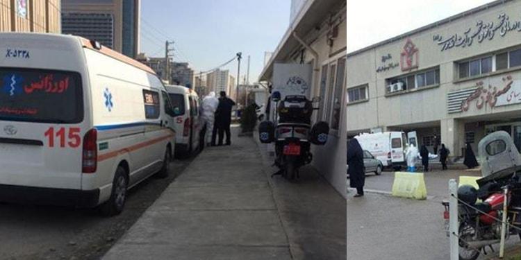 ایران..خانم کادر پزشکی در مورد کرونا