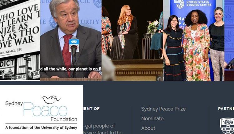 حمایت بنیاد صلح سیدنی استرالیا ؛ از دانشجویان و قیام مردم ایران