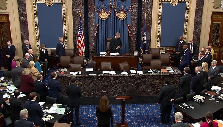 سنای آمریکا به عدم احضار شهود به جلسات استیضاح ترامپ رای داد
