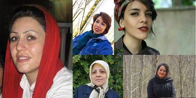 زندانیان بند زنان زندان اوین درمعرض کرونا و محروم ازآدی