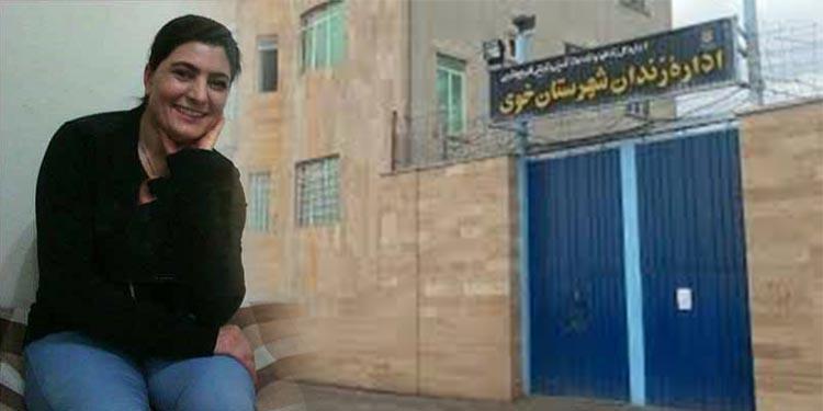 زینب حلالیان زندانی سیاسی زن به مکان نامعلومی منتقل شد